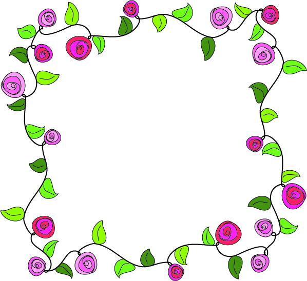 Flower Vine Border Pictures